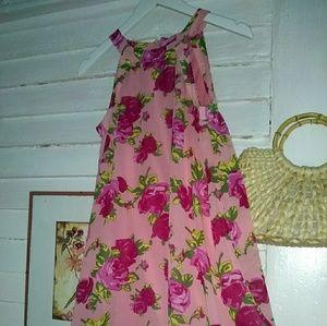 Floral Betsey Johnson Halter Dress 💄